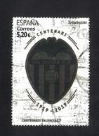 España 2019 Used Centenario Valencia - 2011-... Usados