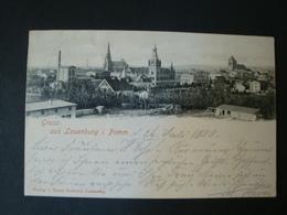 Gruss Aus Lauenburg I. Pommern, Gelaufen 1899 - Pommern