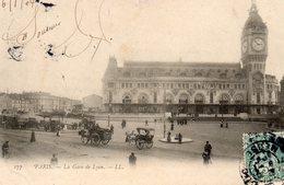 Paris    La Gare De Lyon - Pariser Métro, Bahnhöfe