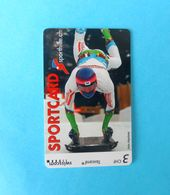 SPECIALTY ... SPORTCARD - SKELETON Or LUGE - Switzerland Special Issue Card Without Chip * Taxcard Sporthilfe.ch - Suisse