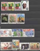 Zaïre - 1985/1990 - Lot Timbres Oblitérés - Nºs Dans Description - Zaïre
