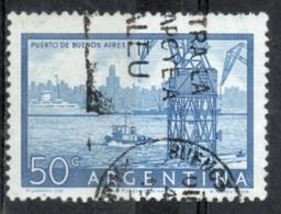 Argentina 1956 - Porto Di Buenos Aires Harbor - Argentina