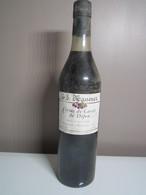 CRÈME DE CASSIS DE DIJON MASSENEZ Distillateur à BASSEMBERG VILLE - Spirits