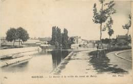 18 - BOURGES - Bassin à La Sortie Du Canal De Berry En 1918 - Bourges