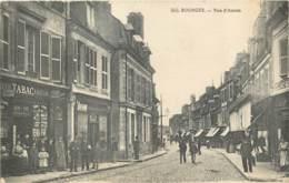 18 - BOURGES - Rue D'Auron En 1918 - Commerce De Tabac - Bourges