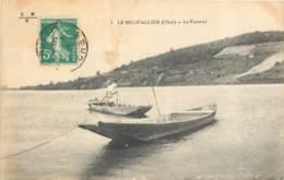 18 - LE BEC D'ALLIER - Le Passeur - Bac 1916 - France