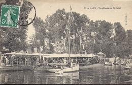 CAEN Torpilleurs Sur Le Canal 1908 Edition PR N°83 - Caen
