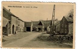 Villers-Ste-Gertrude - Le Centre Du Village - Circulée - Edit. M. Defays-Denis - 2 Scans - Durbuy
