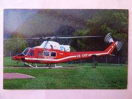 AIR ZERMATT   BELL 412   HB XRP - Hélicoptères