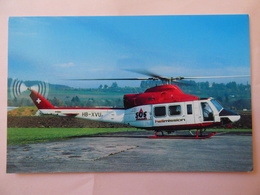 HELIMISSION   BELL 412   HB XVU - Hélicoptères