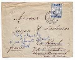 A37 Lettre Avion Turquie Pour France (24-7-1940) - Covers & Documents
