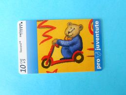 SPECIALTY ... BEAR - Switzerland Special Issue Card Without Chip * Ours Bären Orsi Orse Osos Osas * Pro Juventute - Suisse