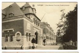 Jodoigne - L'Ecole Normale Provinciale - Façade Principale - Edit. E. Latour - 2 Scans - Jodoigne
