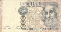 1000 Lire Italien 1982 VF/F (III) - [ 2] 1946-… Republik