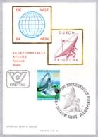 1980   Erdfunkstelle Aflenz FDC  Karte (ANK 1675, Mi 1644) - FDC