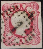 Portugal - 1856 - Y&T N° 12 Oblitéré - Oblitérés