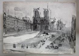 DEPLIANT PROGRAMMA DEUX HEURES A PARIS 1954 - Programmi