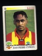 Figurina Calciatori Italiani Panini 1997-1998 - Lecce - N.196  Jean Pierre Cyprien  - Football - Soccer - Socker - Fussb - Edizione Italiana