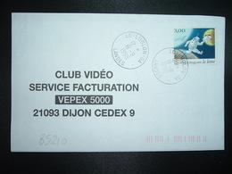 LETTRE TP La Lettre 3,00 OBL.19-9 1998 40 LUGLON GA LANDES (GUICHET ANNEXE) - Handstempel