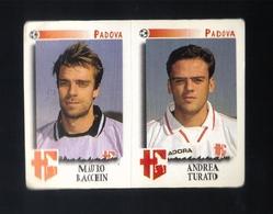 Figurina Calciatori Italiani Panini 1997-1998 - Padova  - N.502   - Football - Soccer - Socker - Fussball - Futbol - Edizione Italiana