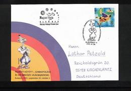 Hungary / Ungarn 2005 Wrestling Interesting Cover - Ringen