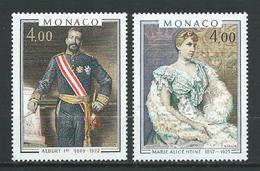 MONACO 1980 . N°s 1245 Et 1246 . Neufs  ** (MNH) . - Monaco