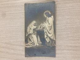 Santino Gesu' Cristo In Ricordo Della Professione Religiosa Di 3 Suore In Lugo (ra) - Santini