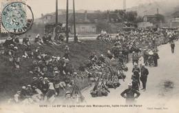 Py-40------------sens Le 89° De Ligne Retour Des Manoeuvres Halte Route De Paron - Sens