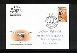 Hungary / Ungarn 2002 Gymnastics Interesting Cover - Gymnastik