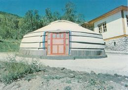 "MONGOLIA - Young Pioneer Camp ""Friendship"" - Mongolian Yurt For Guests - Mongolei"