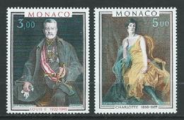 MONACO 1981 . N°s 1286 Et 1287 . Neufs  ** (MNH) . - Monaco