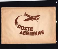 Pochette Pour Courrier - POSTE  AERIENNE . 5 Enveloppe Par Avion  Et  5 Feuilles De Papier Par Avion - Année  1940/50. - Vieux Papiers