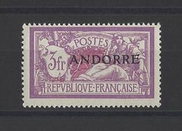 ANDORRE.  YT  N° 20  Neuf **  1931 - Andorre Français