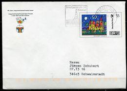 """Germany,Allemagne  2008 Plusbrief-Individuell HAPPY BIRTHDAY Mit MST"""" Briefzentrum 34 Kassel """" 1 Beleg Used - Ohne Zuordnung"""
