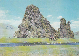MONGOLIA - Övörkhangai - Coral Cliff - Mongolei