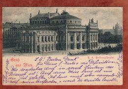 Wien, Hofburgtheater, Kaiser Franz Joseph, Nach Dresden 1898 (74512) - Wien Mitte