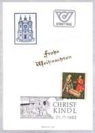 1982  Weihnachten 1982 FDC 4411 Christkindl Karte (ANK 1755, Mi 1724) - FDC