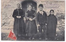 05 Hautes Alpes - BRIANCONNAIS - Types D'anciens Habitants Des Vallées - France