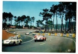 """Les 24 Heures Du Mans - Bolides En Course """"Porsche 911 GT (Claude Laurent), Corvette (Henri Greder) Circ Sans Date - Le Mans"""