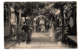 95 - ARGENTEUIL . JARDINS ET BOSQUETS DU CABARET ARTISTIQUE, RUE DE LA RÉPUBLIQUE - Réf. N°22273 - - Argenteuil