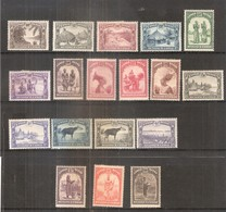Congo Belge 168/83 - Série Complète - X/MH - Congo Belge