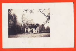 DIM061 Carte-Photo Maison Au Fond Des Bois  1920 DeElie HALEVEZ à BARBILLAT Inspecteur Principal Eaux Et Forets Langres - Photographie