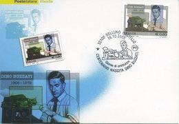 ITALIA - FDC MAXIMUM CARD 2006 - DINO BUZZATI - GIORNALISTA -  ANNULLO SPECIALE - Cartoline Maximum