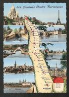 Les Grandes Routes Touristiques PARIS - MOULINS Par La N 7 - Montargis,Briare,la Charité, Fontainebleau,Cosne,Nevers - Non Classificati