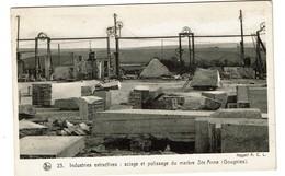Sciage Et Polissage Du Marbre Ste Anne - Gougnies - Industries Extractives - Paysages Belges Condroz - 2 Scans - Gerpinnes