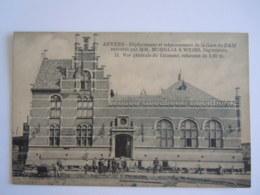 Anvers Déplacement Et Rehaussement De La Gare Du DAM 11 Vue Générale Du Bâtiment - Antwerpen