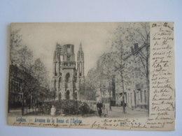 Laeken Avenue De La Reine Et L'Eglise Edit C.V.C. Circulée 1903 Corbeek-Loo - Laeken