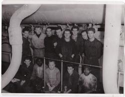 LE BOFFAT - Equipage Machine - 1954 - 23 X 18 Cms - 2 Scannes - Barche