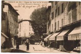 P044 - VENCE - Ligne Du Sud De La France - Avenue Marcelin Maurel - Vence