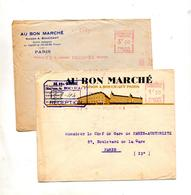 Lettre Flamme Ema Muette Paris Illustréau Bon Marché - EMA (Printer Machine)